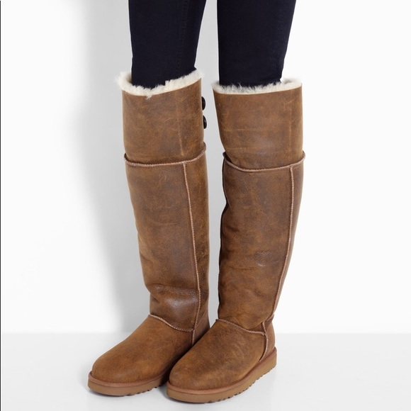 b8dfdc44214 ugg australia over the knee bailey button boots up